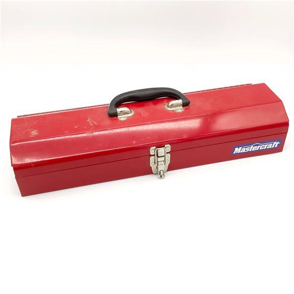 "MasterCraft Red Tool Box, 19"" Long"