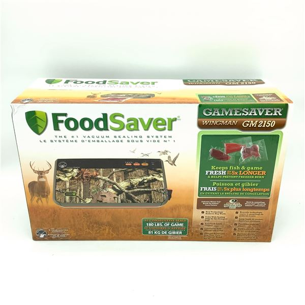 Foodsaver Gamesaver Wingman GM2150, New