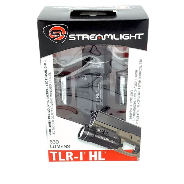 Streamlight TLR - 1 HL Rail Mounted Tactical LED Flashlight, New