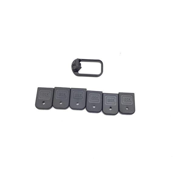 Glock Magwell and Magazine Base Plates, Used