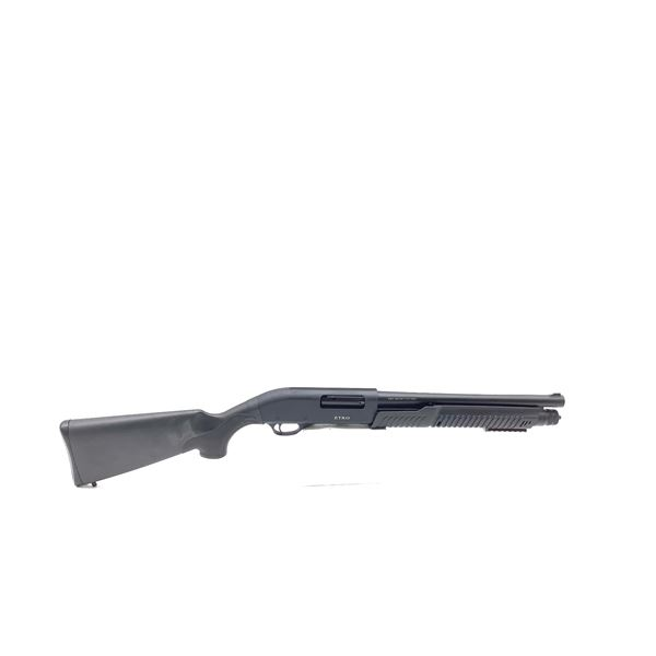 "Etro 12ga Pump Action Shotgun, 14"" Barrel, 3 Interchangeable Chokes, New"