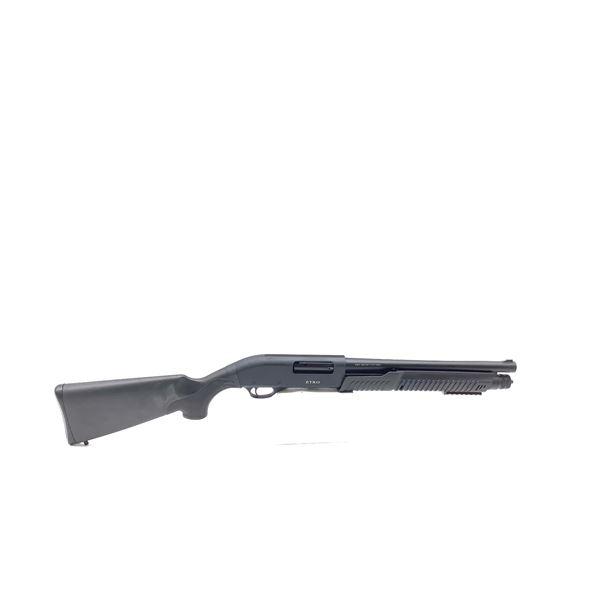 "Etro 12ga Pump Action Shotgun, 14"" Barrel, 3 Interchangeable Chokes, New"