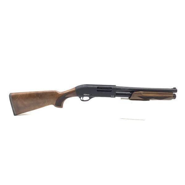 "Uzkon AS40 Pump Action Shotgun, 12ga, 3"", Walnut Stock, 14"" Barrel, 3 Interchangeable Chokes, New"