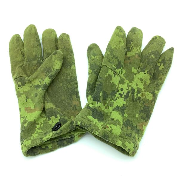 Cadpat Gloves, Polyester, Small