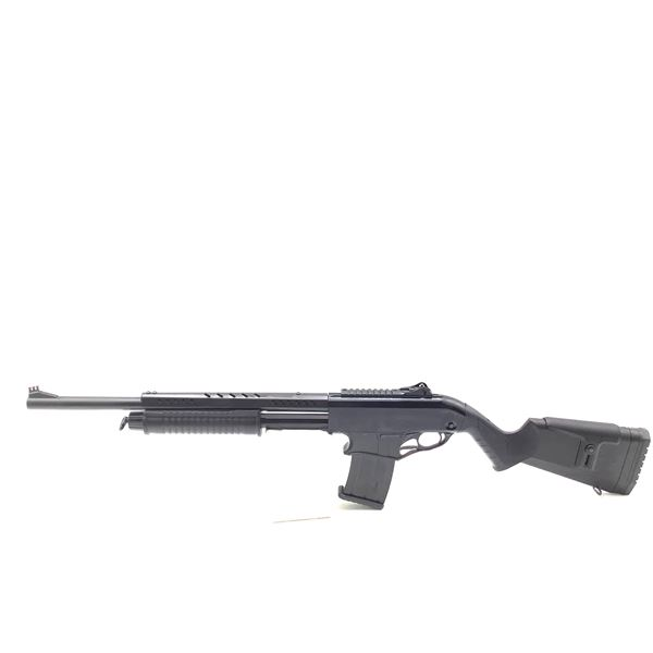 "Canuck Recon, 12Ga, 20"" Barrel, 3 Interchangeable Chokes, Two Mags, Pump Action Shotgun, New"