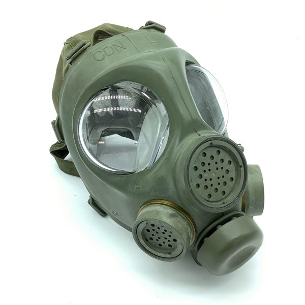 Canadian Military Style Gas Mask, C4, Size Large