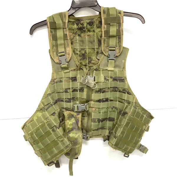 Cadpat Tac Vest With Molle
