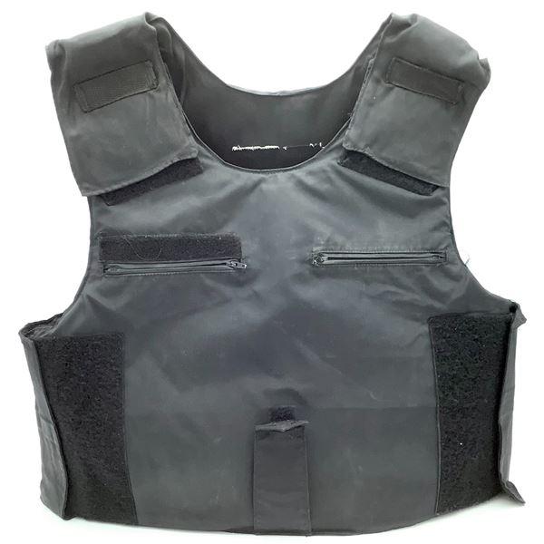Surplus Level III A Protective Vest, Black, Medium