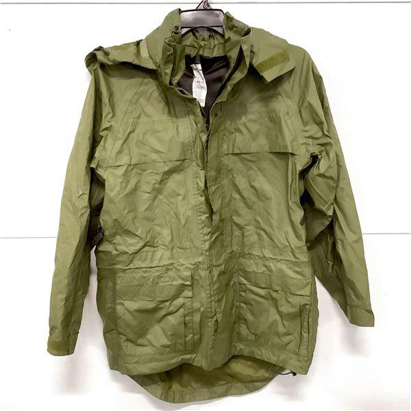 Military Rain Jacket, Size 7030, ODG