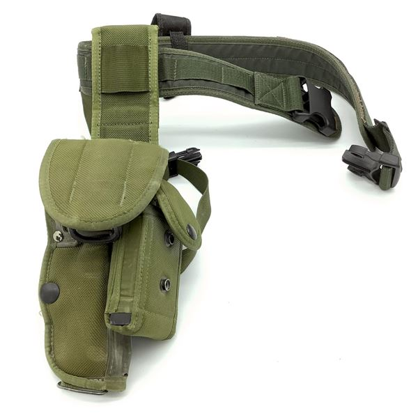 Canadian Military Browning High Power Holster and Belt