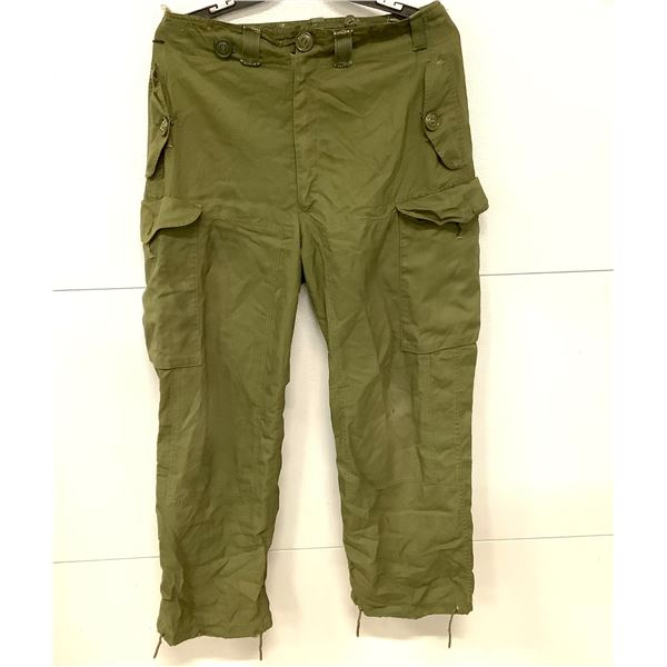 Canadian Military Windpants, Approx Size 34
