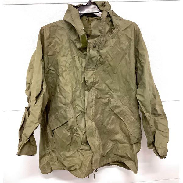 Canadian Military Rain Jacket, Size 7044, ODG