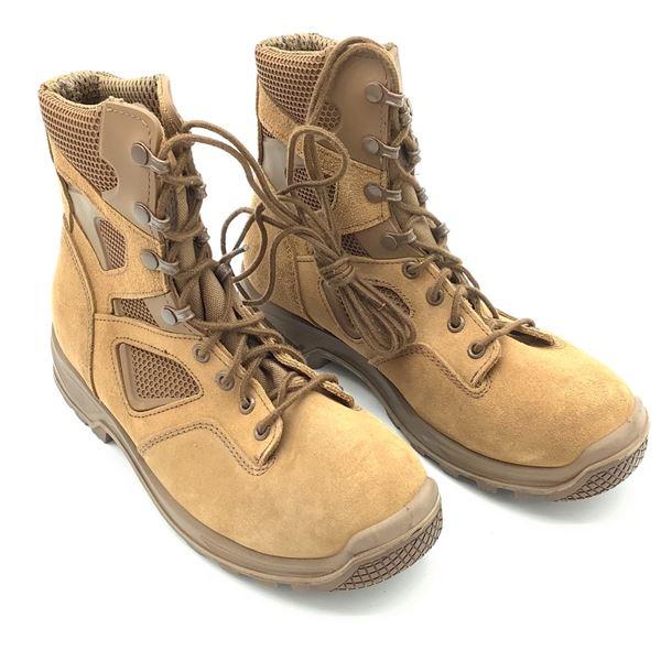 Terra Combat Boots, Size 255/100, Tan