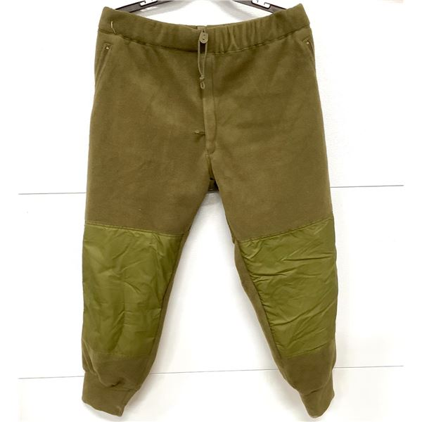 Canadian Military Fleece Pants, Size 7042