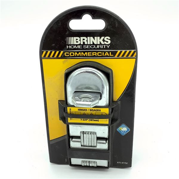 Brinks Double Hinged Hasp, New