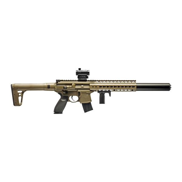 Sig Sauer MCX Air Rifle .177 Cal. FDE with Red Dot ,New.