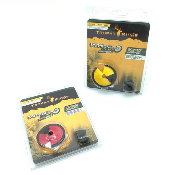 Trophy Ridge Whisker Biscuit Replacement X 2 (ARBRD and ARBYW), New