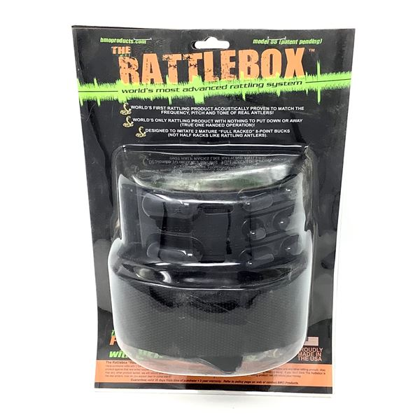 BMO Products RattleBox Rattling System, New