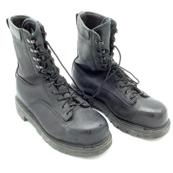 Terra Combat Boots, Black. Size 265/96