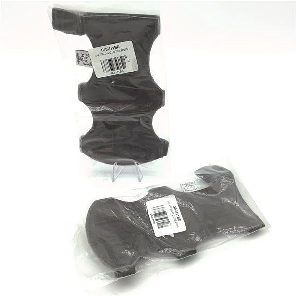 GAA Armguard, Brown Leather X 2, New
