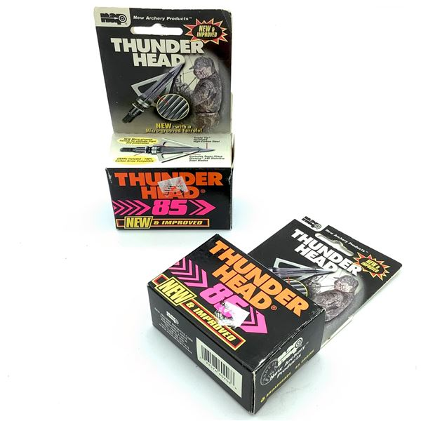 New Archery Thunderhead 85 3-Blade 6 Pk X 2, New