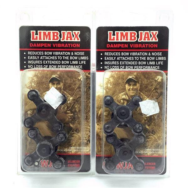 Bowjax Limb Jax Vibration Dampener X 2, New