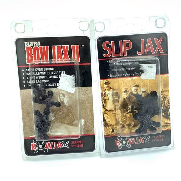 Bowjax Ultra Bowjax II String Silencer, Slip Jax Vibration Dampener, New