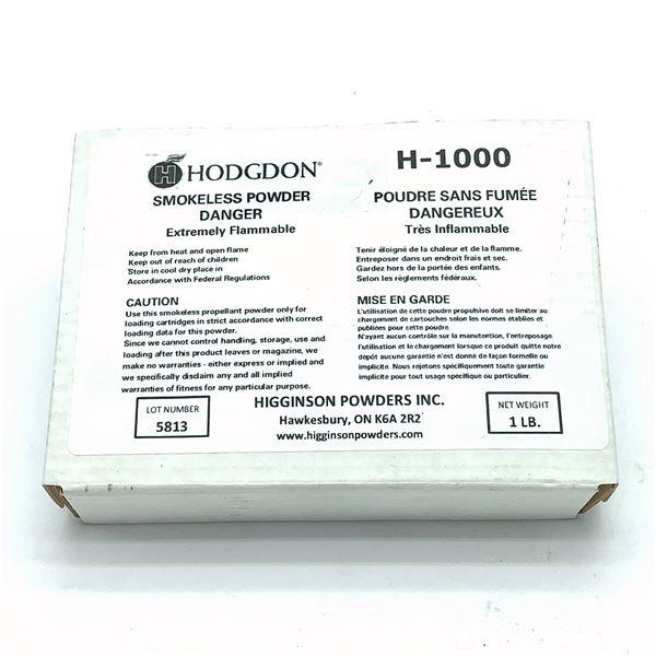 Hodgdon H1000 1 Lb Smokeless Powder, New
