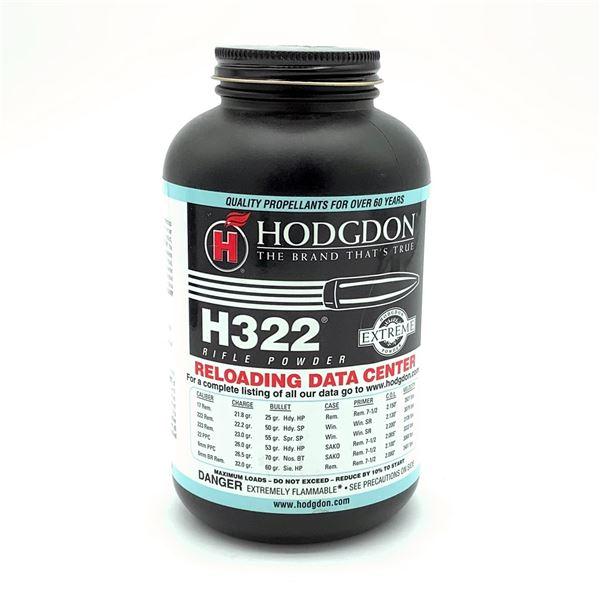 Hodgdon H322 1 Lb Rifle Powder, New