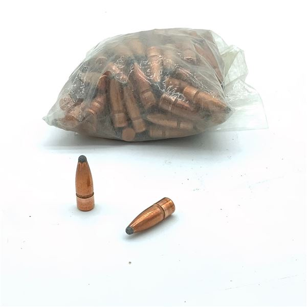 """Loose 30 Cal .308"""" 150 Grain SP W Cannelure Projectiles, 100 Ct"""