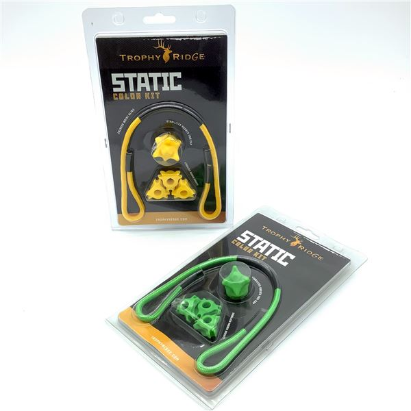 Trophy Ridge Static Stabilizer Colour Kit, Yellow, Green, New