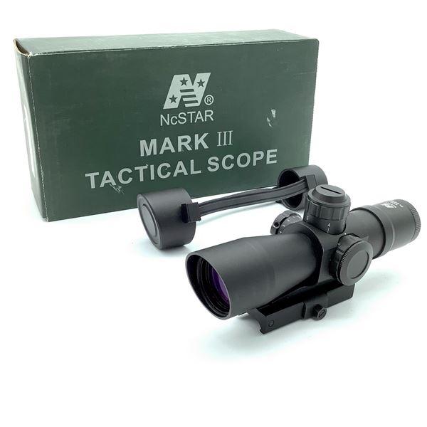 NCStar Mark III Tactical 4X32mm, P4 Sniper Reticle Scope