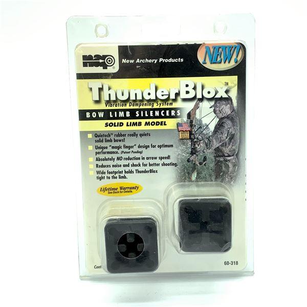 New Archery ThunderBlox Bow Limb Silencer, New
