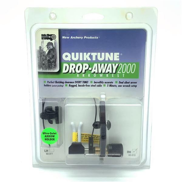 New Archery Quiktune Drop Away 2000 Arrow Rest, LH, New