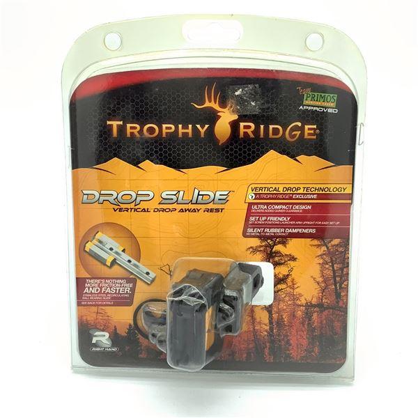 Trophy Ridge Drop Slide Vertical Drop Away Rest, RH, New