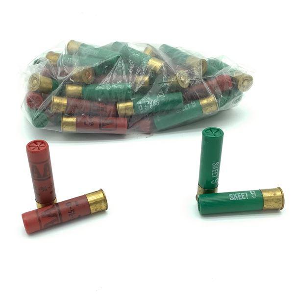 Loose, Assorted 28 Ga Ammunition, 44 Rounds