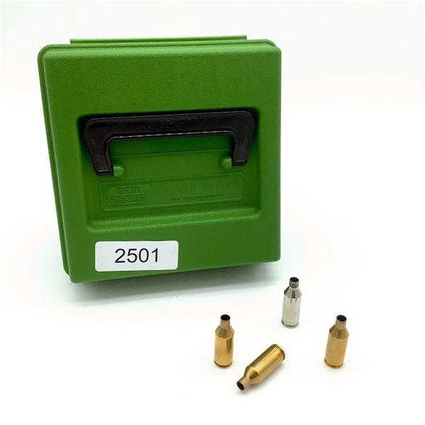 MTM R-100 Mag Series Case With 243 WSSM Spent Cases, 94 Pc