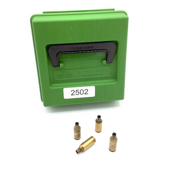 MTM R-100 Mag Series Case With 243 WSSM Spent Cases, 86 Pc