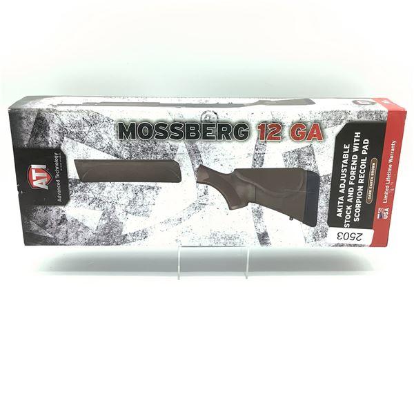 ATI Mossberg 500/535 12 Ga 4-Position Adjustable Akita Stock and Forend, Dark Earth