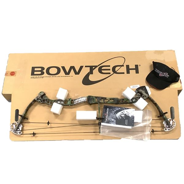 Bowtech Constitution Crossbow, LH, 70 Lb, New