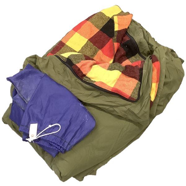 Woods Vintage 1 Person Sleeping Bag in Bag