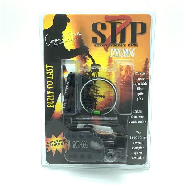 Spot Hogg Seven Deadly Pins Fiber Optic Pin Sight, RH, 29, New