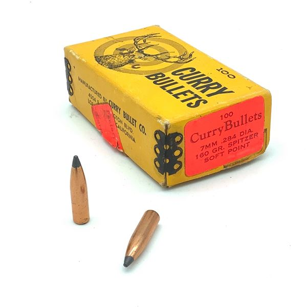 Curry Bullets 7mm SP - 96 Projectiles