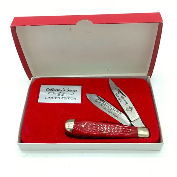 Collector's Series John Wayne 2 Blade Pocket Knife