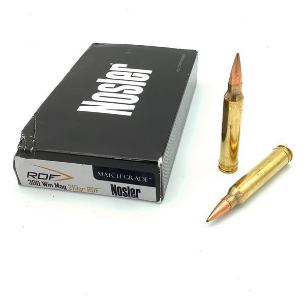 Nosler 300 Win Mag Ammunition - 20 Rnds