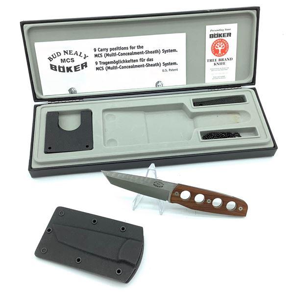"Boker ""Bud Nealy"" MCS Knife Set, New"