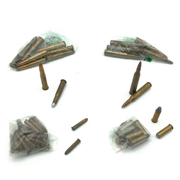 Assorted Loose Ammunition, 64 Rounds