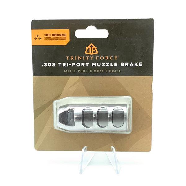 Trinity Force 308 Tri-Port Muzzle Brake, New