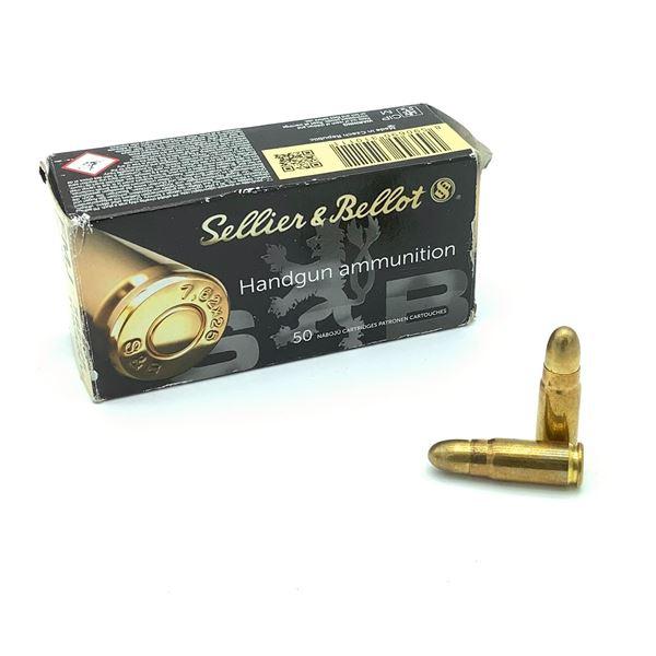 Sellier & Bellot 7.62 X 25 85 Grain FMJ Ammunition, 48 Rounds
