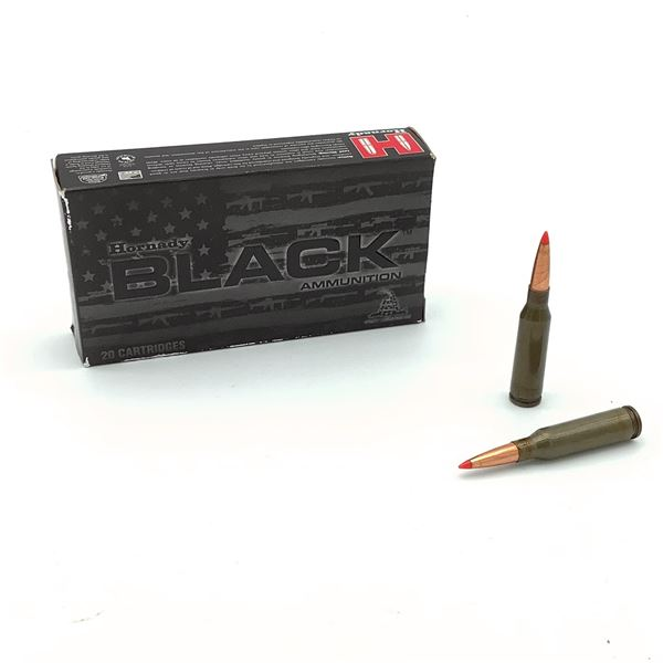 Hornady Black 5.45 X 39, 60 Grain V-Max Steel Ammunition, 16 Rounds
